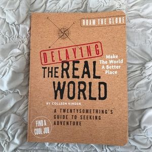 NWOT Delaying the Real World Book